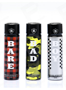 Pack Trio BBB Poppers 24 ml
